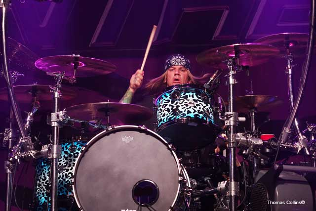 Steel Panther LIVE at The Fillmore Stixx Zadinia photo by Thomas Collins – 5