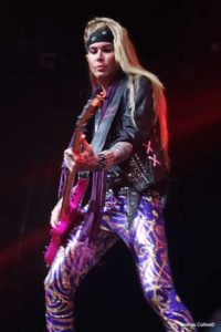 Steel Panther LIVE at The Fillmore Lexxi Foxx photo by Thomas Collins