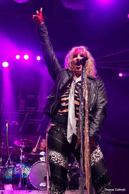 Steel Panther LIVE at The Fillmore Michael Starr photo by Thomas Collins
