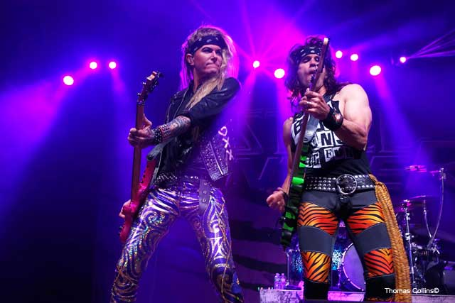 Steel Panther LIVE at The Fillmore Lexxi Foxx with Satchel photo by Thomas Collins