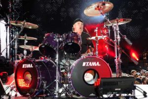 Lars Ulrich - Photo by Tom Collins