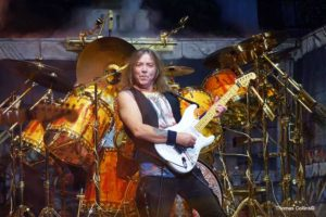 Iron Maiden guitarist Dave Murray - Photo by Tom Collins