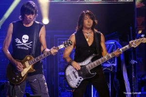 Tracy Ferrie and Tom Scholz - Photo by Tom Collins