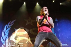 Corey Taylor of Stone Sour - Photo by Tom Collins